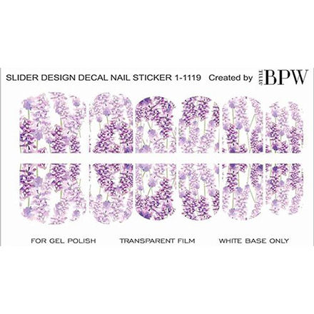 BPW.Style, Слайдер-дизайн «Лаванда» №1-1119