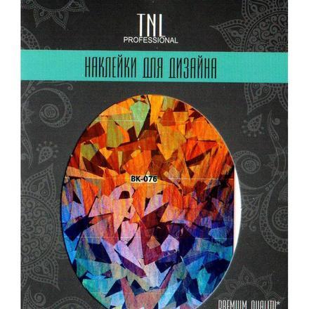 TNL, Наклейка-фольга Premium Quality BK-076 кий для пула cuetec 1 рс черный 21 076 57 5