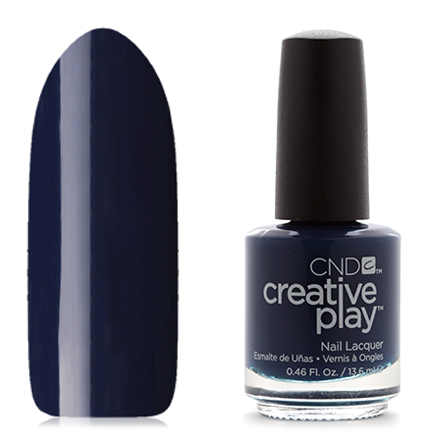 CND Creative Play, цвет Navy Brat, 13,6 мл cnd лосьон creative scentsations wildflower