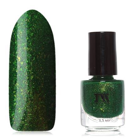 Masura, Лак для ногтей «Золотая коллекция», Сказки старого лесаMasura<br>Лак (3,5 мл) насыщенный зеленый, с мелкой фольгой, плотный.<br><br>Цвет: Зеленый<br>Объем мл: 3.50