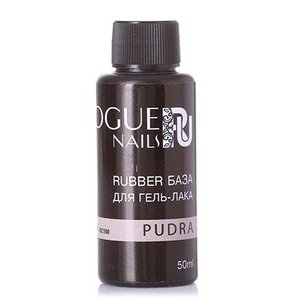 Купить Vogue Nails, База для гель-лака Rubber, pudra, 50 мл, Натуральный