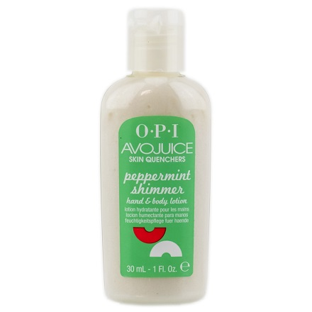 OPI Avojuice Peppermint Shimmer Juice Lotion 30 ml
