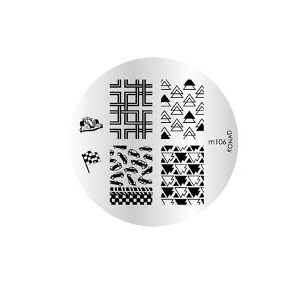 Konad, диск для стемпинга М106