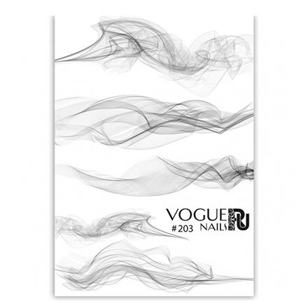 Купить Vogue Nails, Слайдер-дизайн №203