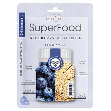 Купить Estelare, Маска для лица Superfood «Черника и Киноа», 25 г