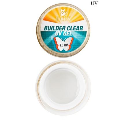 FOX, моделирующий 3-фазный прозрачный гель Builder Clear Gel, 15 мл