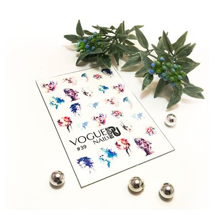 Купить Vogue Nails, Слайдер-дизайн №39
