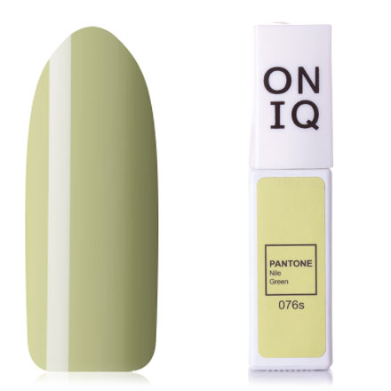 Купить ONIQ, Гель-лак Pantone №076s, Nila Green, Зеленый