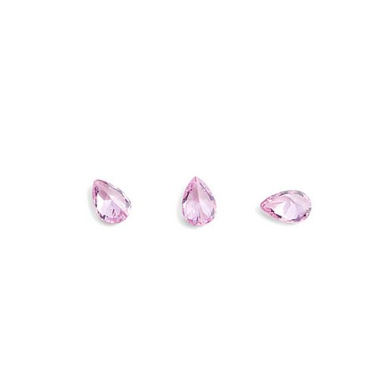 TNL, Кристаллы «Капля» №1, розовые, 10 шт.3D украшения<br>Кристаллы для объемной инкрустации ногтей. В упаковке 10 штук.