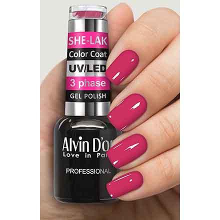 Купить Alvin D'or, Гель-лак №3542, Розовый