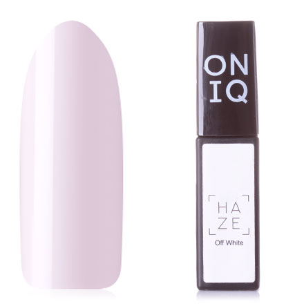 Купить ONIQ, Гель-лак Haze №081s, Off White, Белый