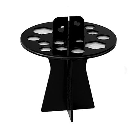 Купить IRISK, Подставка-органайзер для сушки кистей, 16 ячеек, черная