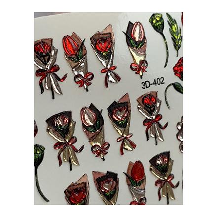 AnnaTkacheva,3D-слайдерCrystal№402 «Цветы. Цветочки» фото