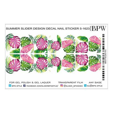 Купить BPW.style, Слайдер-дизайн «Тропические листья» №5-1623