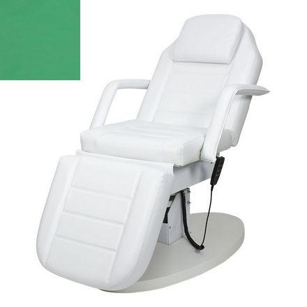 Купить Мэдисон, Косметологическое кресло «Элегия-03», зеленое глянцевое