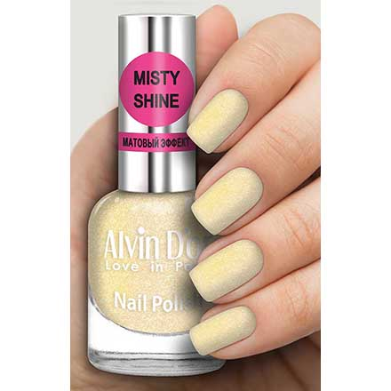 Купить Alvin D`or, Лак Misty shine №515, Alvin D'or, Желтый