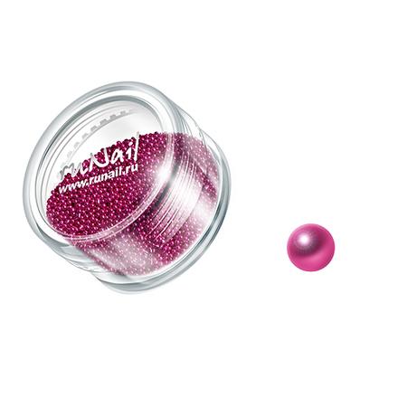 Купить RuNail, дизайн для ногтей: бульонки 0317 (малиновый)