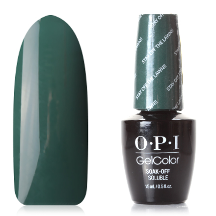 OPI GelColor, Washington, Гель-лак Stay Off The Lawn