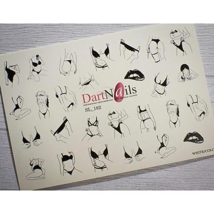 Купить DartNails, Слайдер-дизайн Art-Fashion «Девушки» №182