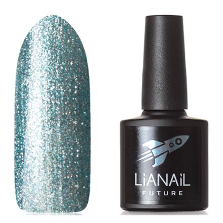 Lianail, Гель-лак Future, Blue flashLianail<br>Гель-лак (10 мл) голубой, с большим количеством мелкой серебристой фольги, плотный.<br><br>Цвет: Синий<br>Объем мл: 10.00