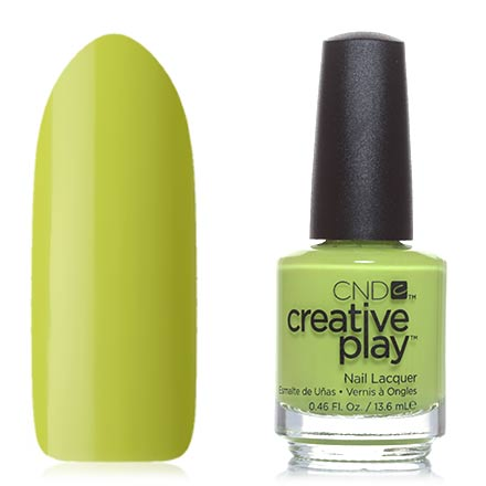 CND Creative Play, цвет Carou-celery, 13,6 мл cnd лосьон creative scentsations wildflower