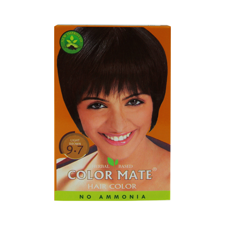 COLOR MATE, Травяная краска для волос 9.7