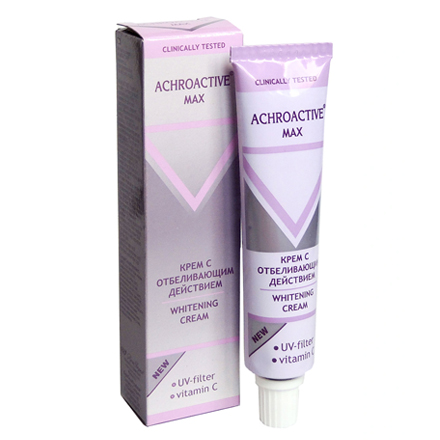 Achroactive Max, Крем для лица «С отбеливающим действием», 45 мл