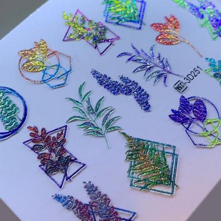 AnnaTkacheva,3D-слайдерCrystalHT№251 «Цветы. Геометрия» фото