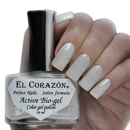 Купить El Corazon, Активный биогель Wedding Dreams №423/1101, Серебряный