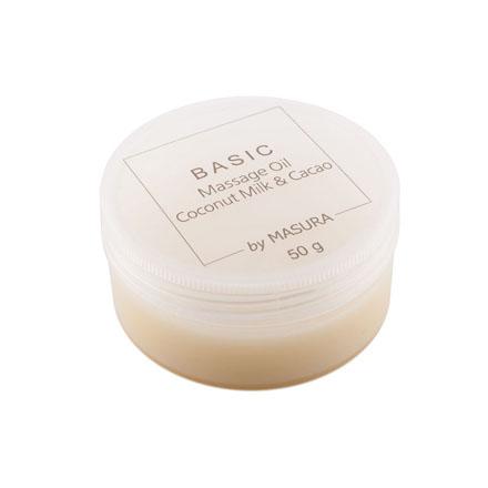Masura, Твердое массажное масло Coconut Milk , 50 г