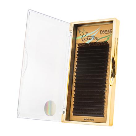 Купить EVABOND, Ресницы на ленте «Колибри», D=0, 07, C-изгиб, темный шоколад