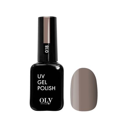 Купить Oly Style, Гель-лак №018, Коричневый