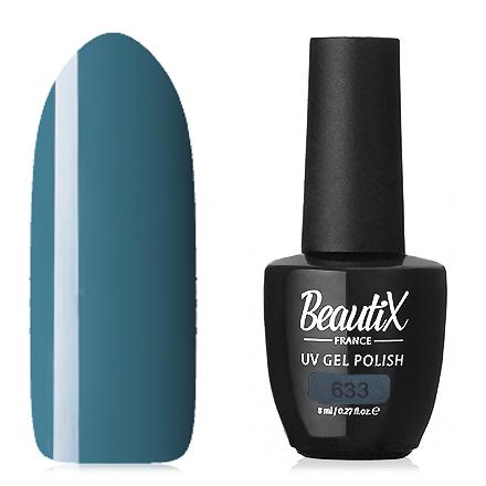 Купить Beautix, Гель-лак №633, Синий