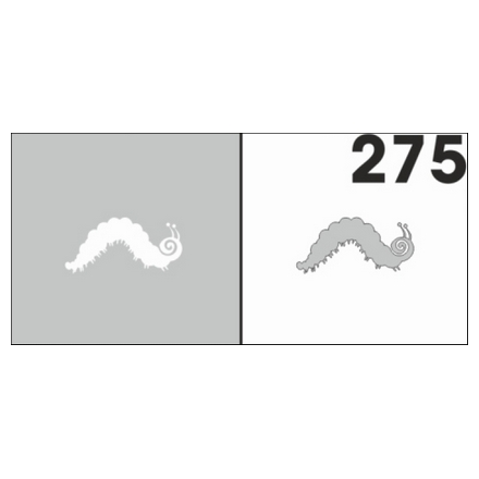 Airnails, Трафареты №275Трафареты для маникюра<br>Многоразовые клеевые трафареты для аэрографии на ногтях. В упаковке 6 шт.<br>