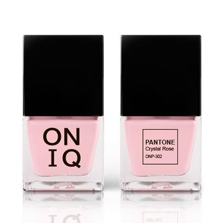 Купить ONIQ, Лак для ногтей Pantone, Crystal Rose, Розовый