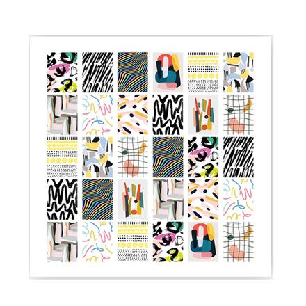 ONIQ, Слайдер-дизайн Transfer, Abstraction №3  - Купить