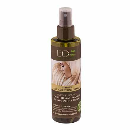 EcoLab, Разглаживающее средство для волос, 200 мл фото