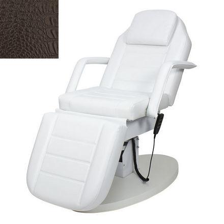 Купить Мэдисон, Косметологическое кресло «Элегия-02», коричневое, «крокодил»