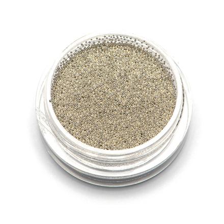 TNL, Бульонки супермелкие, серебро, 0,4 мм