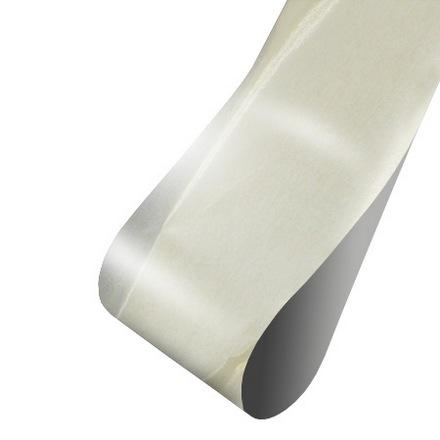 Patrisa nail, Фольга для дизайна (матовая серебряная), 60 см