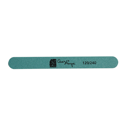 ОлеХаус, Пилка Straight File, зеленая, 120/240Пилки для искусственных ногтей<br>Профессиональная пилка для искусственных и натуральных ногтей с двумя рабочими сторонами, каждая из которых имеет абразивность.<br>