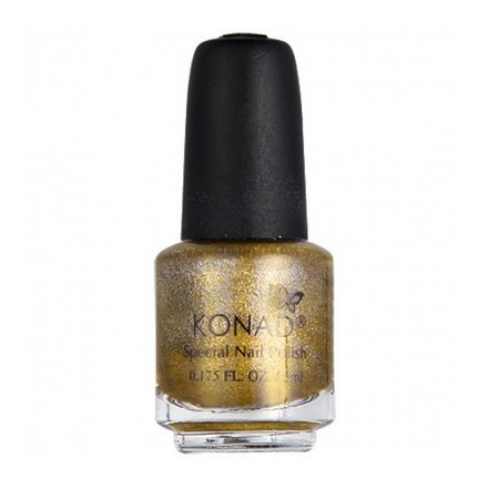 Konad, лак для стемпинга, цвет S52 Powdery Gold 5 ml (воздушное золото)