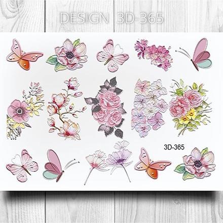 AnnaTkacheva,3D-слайдер№365 «Цветы. Бабочки» фото