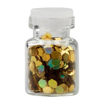 Irisk, Декор Fish Scales в стеклянной бутылочке №2