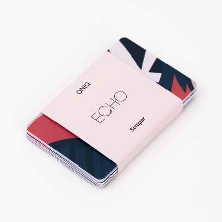 Купить ONIQ, Скребки для стемпинга Echo, 10 шт.