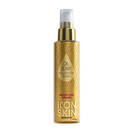 Icon Skin, Масло-эликсир для тела Hollywood Glow, 100 мл chi luxury black seed oil curl defining cream gel