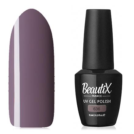 Купить Beautix, Гель-лак №636, 15 мл, Фиолетовый