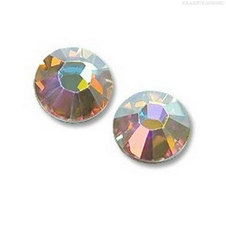 Кристаллы Swarovski, Crystal AB F SS3 1,4 мм (100 шт) swarovski кристальные жемчужины crystal cream pearl 1 5 мм