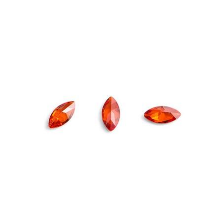 TNL, Кристаллы «Маркиз» №1, красные, 10 шт. фото
