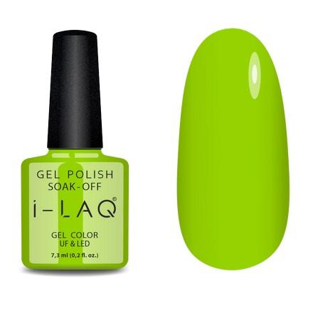 Купить I-LAQ, Гель-лак №159, Зеленый